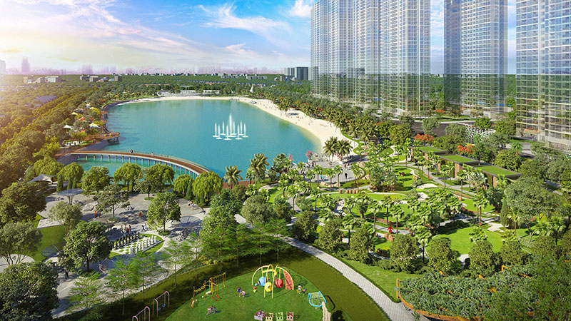 cong-vien-central-park-vinhomes-smart-city